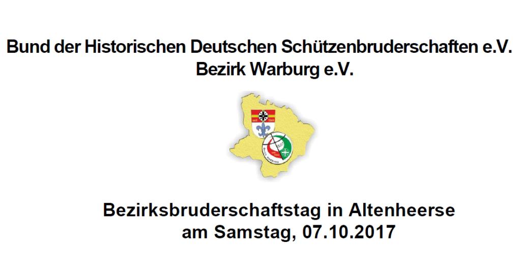 Bruderschaftstag 2017 in Altenheerse