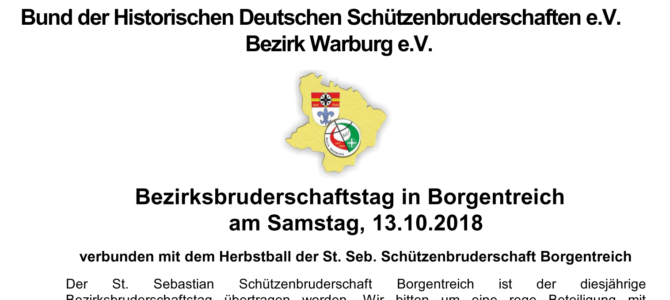 Bruderschaftstag 2018 in Borgentreich