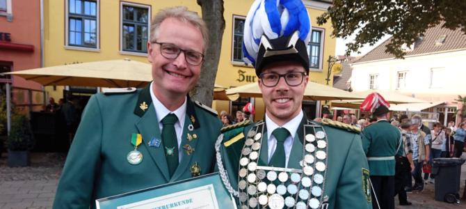Jonas Kleinjohann ist Diözesankönig