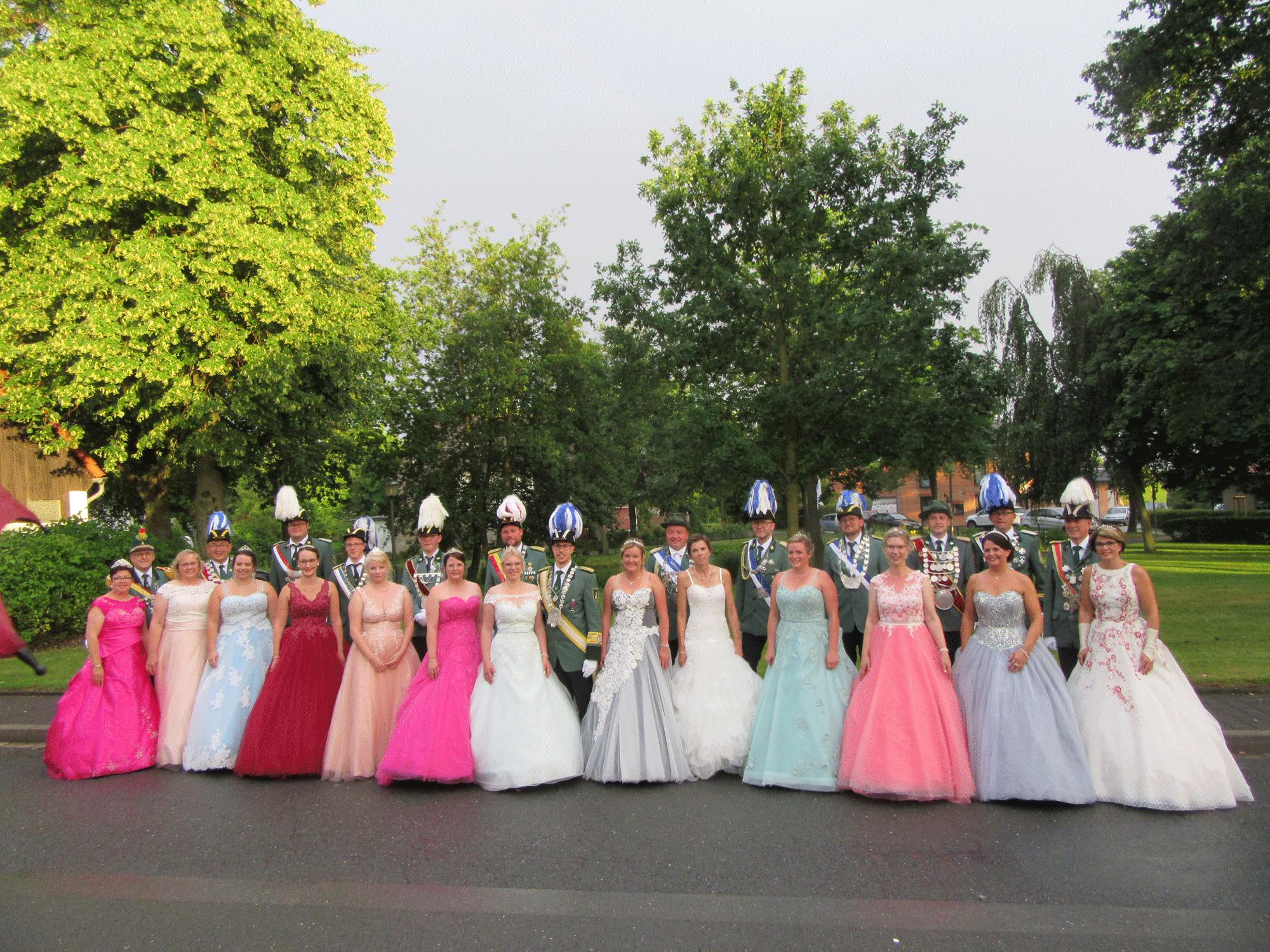 Diözesankönigsfest und Ball der Könige 2019 in Natingen